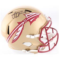 Jameis Winston Signed Florida State Seminoles Full-Size Speed Helmet (Beckett COA)