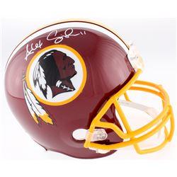Alex Smith Signed Redskins Full-Size Helmet (JSA COA)
