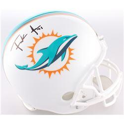Frank Gore Signed Dolphins Full-Size Helmet (JSA COA)