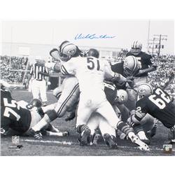 Dick Butkus Signed Bears 16x20 Photo (Schwartz COA)