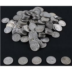 Lot of (201) Buffalo Nickels