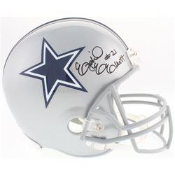 Ezekiel Elliott Signed Cowboys Full-Size Helmet (Beckett COA)