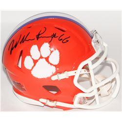 William Perry Signed Clemson Tigers Mini Speed Helmet (Schwartz COA)