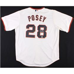 Buster Posey Signed Giants Jersey (LOJO COA)