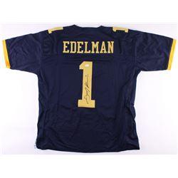 Julian Edelman Signed Kent State Golden Flashes Jersey (JSA COA)