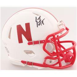 Scott Frost Signed Nebraska Cornhuskers Mini Speed Helmet (JSA Hologram)