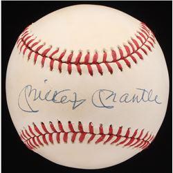 Mickey Mantle Signed OAL Baseball (JSA LOA)