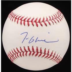 Tom Glavine Signed OML Baseball (JSA Hologram)