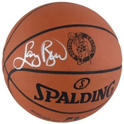 Larry Bird Signed Celtics Logo Basketball (Fanatics Hologram)