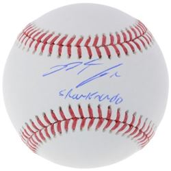 "Nolan Arenado Signed Baseball Inscribed ""Sharknado"" (Fanatics Hologram)"