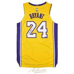 Kobe Bryant Signed Lakers Nike Jersey (Panini COA)