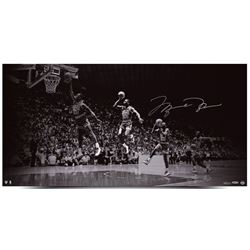 "Michael Jordan Signed LE Bulls ""We Have Lift Off"" 18x36 Photo (UDA COA)"