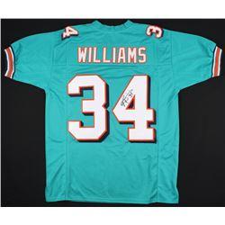 Ricky Williams Signed Dolphins Jersey (JSA COA)