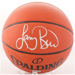 Larry Bird Signed NBA Basketball (Radtke Hologram)