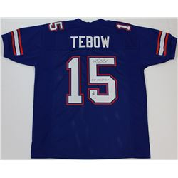 "Tim Tebow Signed Florida Gators Jersey Inscribed ""07 Heisman"" (Tebow Hologram)"