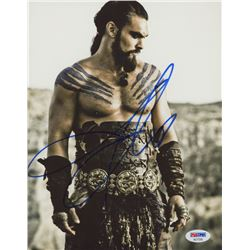 "Jason Momoa Signed ""Game of Thrones"" 8x10 Photo (PSA COA)"