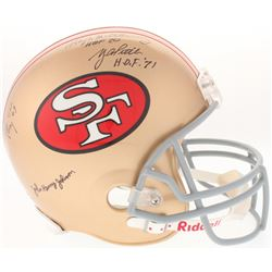 """""""The Million Dollar Backfield"""" 49ers Full-Size Helmet Signed By (4) With Y.A. Tittle, Hugh McElhenny"""