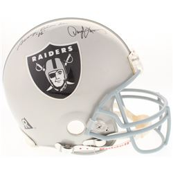 Raiders Full-Size Authentic On-Field Helmet Team-Signed by (5) with Daryle Lamonica, George Blanda,