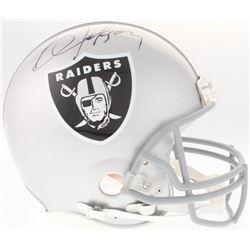 Bo Jackson Signed Raiders Full-Size Authentic On-Field Helmet (Beckett COA  Jackson Hologram)