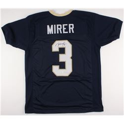 Rick Mirer Signed Notre Dame Fighting Irish Jersey (JSA COA)