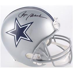 Roger Staubach Signed Cowboys Full-Size Helmet (JSA COA)