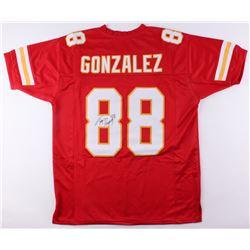 Tony Gonzalez Signed Chiefs Jersey (JSA COA)