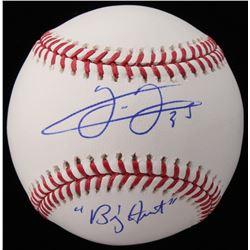 "Frank Thomas Signed OML Baseball Inscribed ""Big Hurt"" (Schwartz COA)"