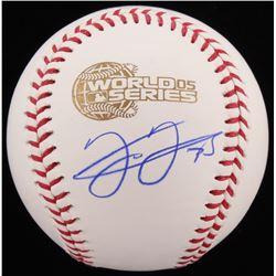 Frank Thomas Signed 2005 World Series Baseball (Schwartz COA)
