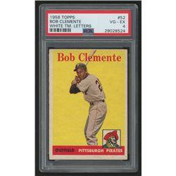 1958 Topps #52A Roberto Clemente (PSA 4)