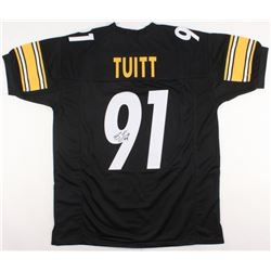 Stephon Tuitt Signed Steelers Jersey (JSA COA)