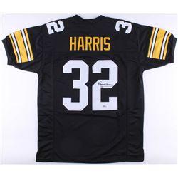 Franco Harris Signed Steelers Jersey (Beckett COA)