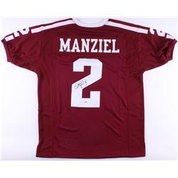 Johnny Manziel Signed Texas AM Aggies Jersey (PSA COA)