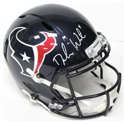Deshaun Watson Signed Texans Authentic On-Field Full-Size Speed Helmet (Beckett COA)