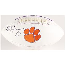 DeAndre Hopkins Signed Clemson Tigers Logo Football (Radtke COA)