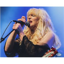Courtney Love Signed 11x14 Photo (Beckett COA)