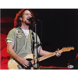 Eddie Vedder Signed 11x14 Photo (Beckett LOA)
