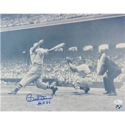 "Bobby Doerr Signed Red Sox 11x14 Photo Inscribed ""HOF 86"" (JSA COA   Sure Shot Promotions)"