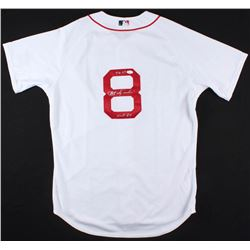 "Carl Yastrzemski Signed Red Sox Jersey Inscribed ""TC 67""  ""HOF 89""(JSA COA)"