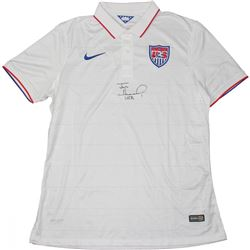 "Tim Howard Signed Team USA Jersey Inscribed ""USA"" (JSA COA)"
