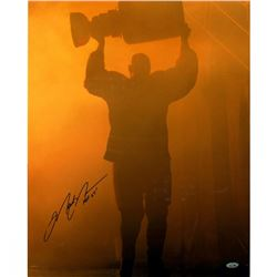 "Mark Messier Signed Oilers ""Stanley Cup"" 16x20 Photo Inscribed ""HOF 07"" (Steiner COA)"