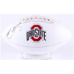 Braxton Miller Signed Ohio State Buckeyes Logo Football (Radtke COA)