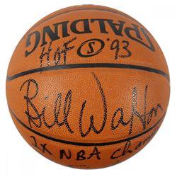 Bill Walton Signed Spalding Basketball with (5) Inscriptions (Steiner COA)
