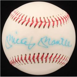 Mickey Mantle Signed Baseball (JSA LOA)