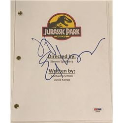 "Jeff Goldblum Signed ""Jurassic Park"" Full Movie Script (PSA COA)"
