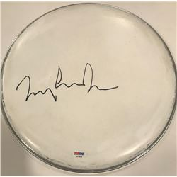 "Tommy Lee Jones Signed 12"" Drum Head (PSA COA)"