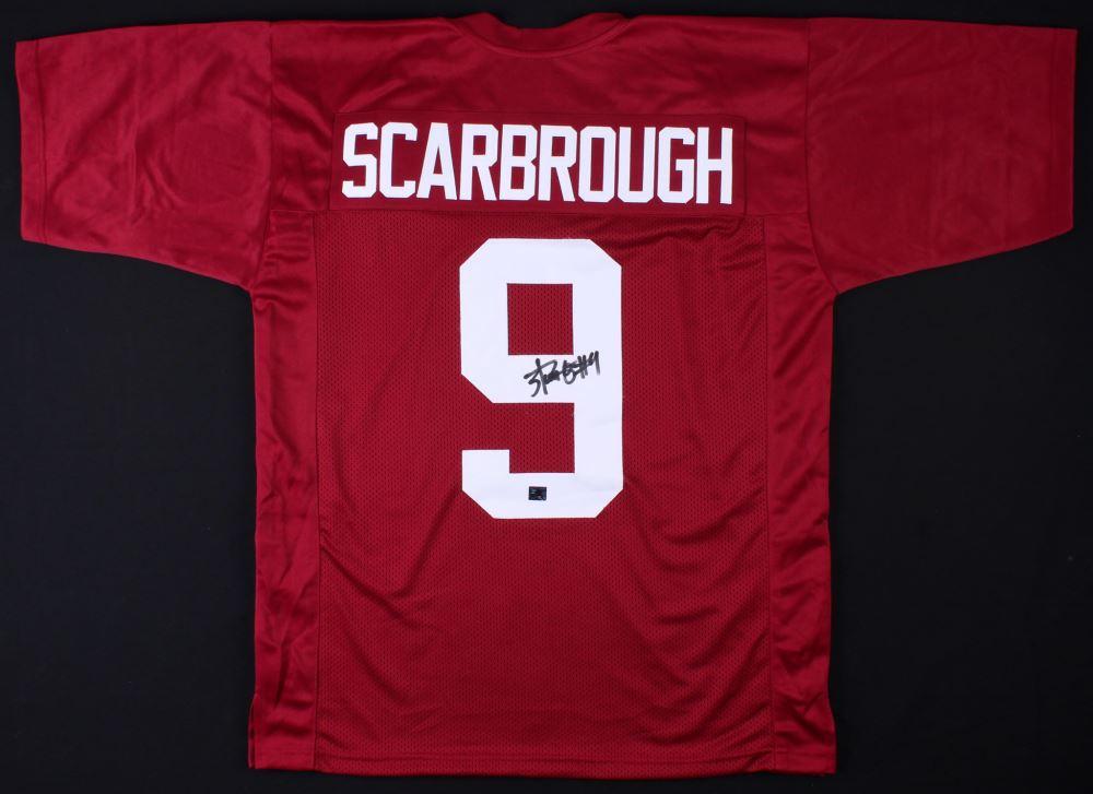 pretty nice 37a82 3d68f Bo Scarbrough Signed Alabama Crimson Tide Jersey ...