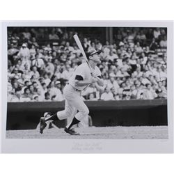 """The Hulton Archive - Mickey Mantle """"Home Run Ball"""" Limited Edition 17x22 Fine Art Giclee on Paper #/"""