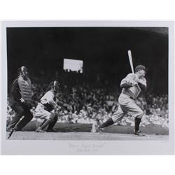 """The Hulton Archive - Babe Ruth """"Picture Perfect Baseball"""" Limited Edition 17x22 Fine Art Giclee on P"""