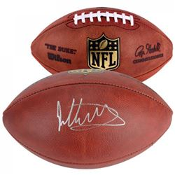 """Todd Gurley Signed """"The Duke"""" Official NFL Game Ball (Fanatics Hologram)"""