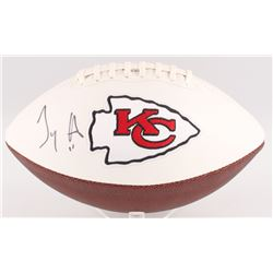 Tyreek Hill Signed Chiefs Logo Football (JSA COA)